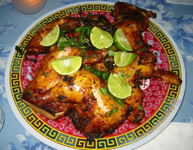 Achiote Chicken to King's Achiote Chicken
