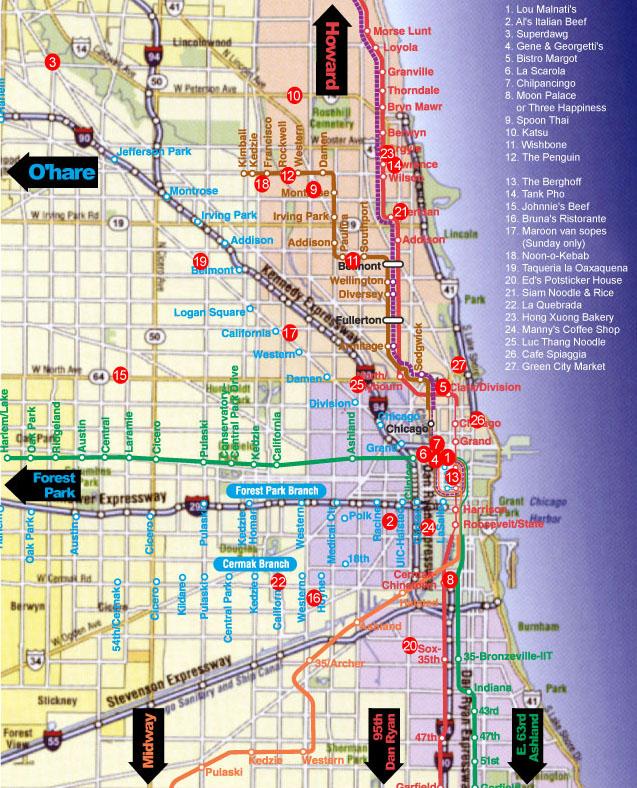 LTHForum.com - Chicago Chow Map